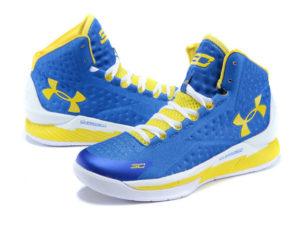 Under Armour Curry 1 Синий/желтый