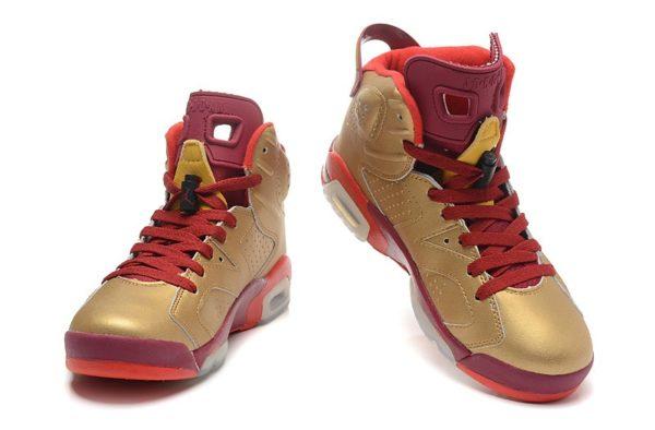 Air Jordan 6 'Metal Gold'
