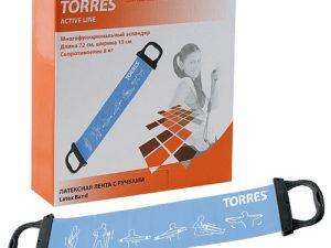 TORRES Латексная лента для аэробики