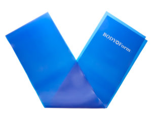 Body Form Латексная лента Синий
