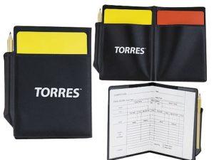 TORRES Бумажник судейский футбольный