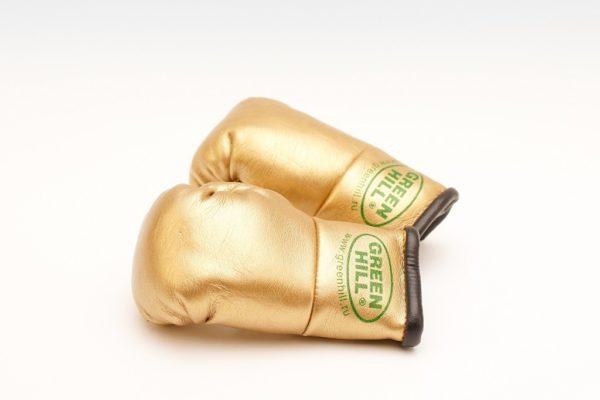 "Green Hill Брелок Боксерская перчатка ""Золото"""