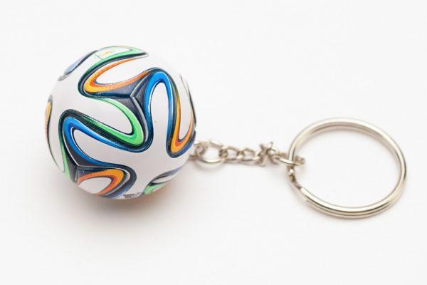 """Брелок футбольный мяч """"Brazuka"""""""