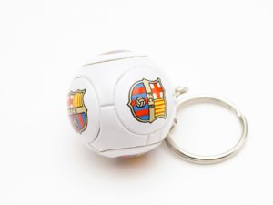 """Брелок футбольный мяч """"Barcelona"""""""