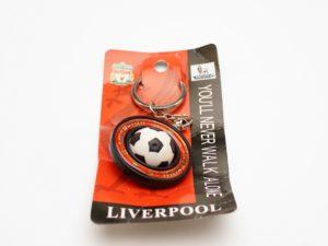 Брелок LIVERPOOL футбольный мяч в кольце