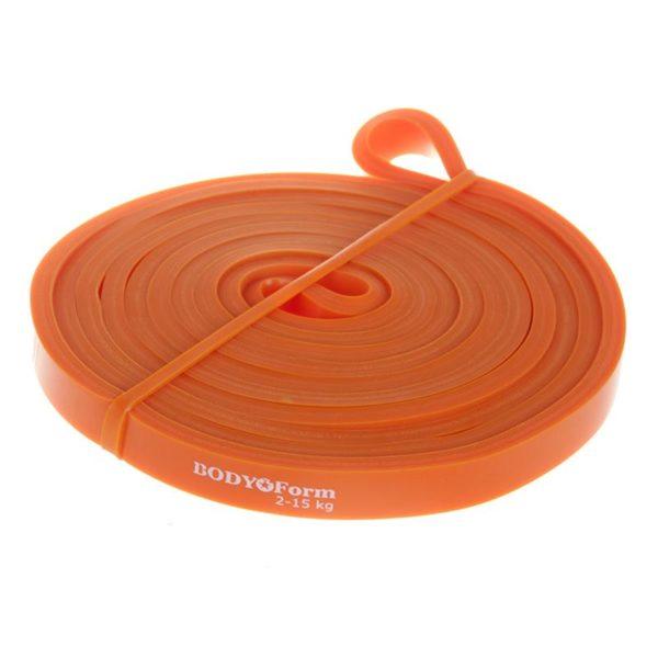 BodyForm Эспандер-Резиновая петля 4.5 мм упругость на растяжение: 2-15 кг