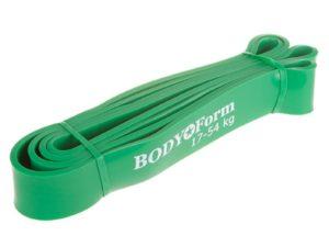 BodyForm Эспандер-Резиновая петля 40 мм упругость на растяжение: 17-54 кг