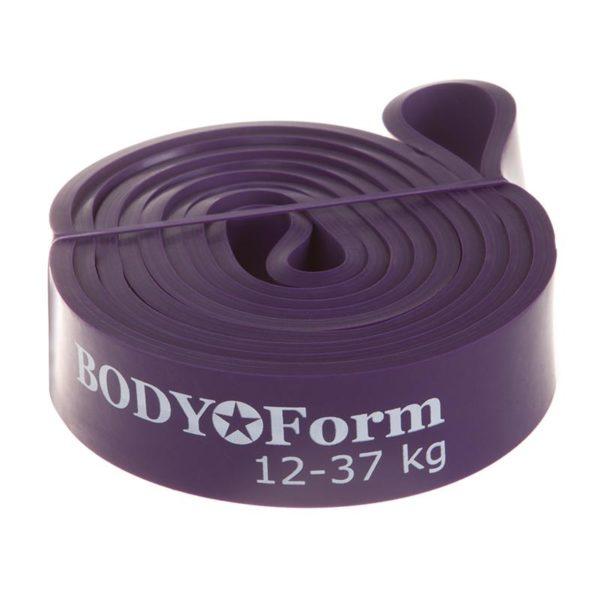 BodyForm Эспандер-Резиновая петля 30 мм упругость на растяжение: 12-37 кг