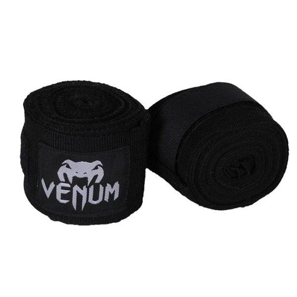 Venum Бинты хлопок (2.5м) Черный