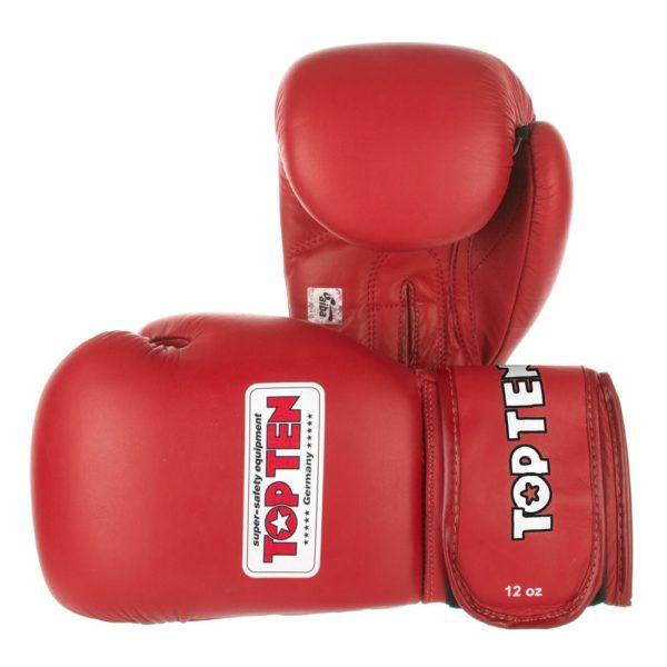 TOP TEN Перчатки для бокса