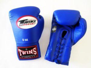 TWINS Боксерские перчатки (Синие)