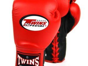 TWINS Боксерские перчатки (Красные)