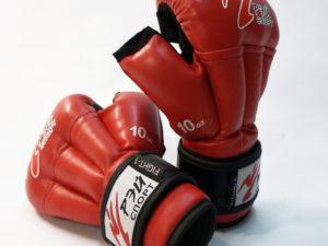 Рэй-Спорт Перчатки для рукопашного боя Красный