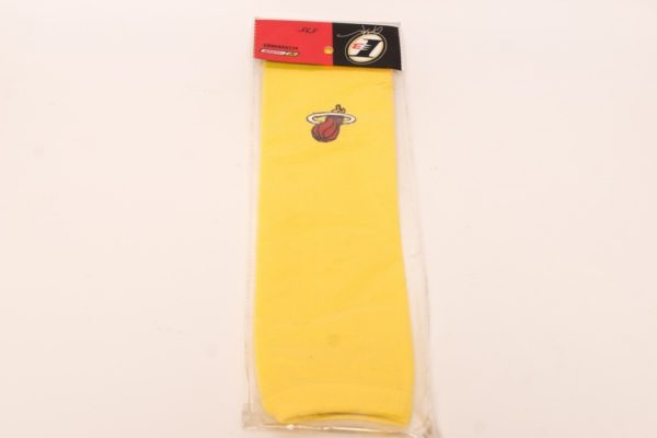 Баскетбольный рукав Желтый