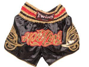 TWINS Special Шорты для тайского бокса Черный