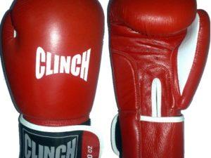 Clinch C236 Боксерские перчатки Красный