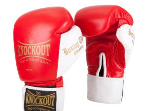 Knockout NBG-250 Боксерские перчатки Красный