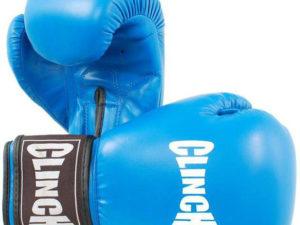 Clinch C236 Боксерские перчатки Синий