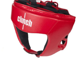 Clinch Olimp C112 Боксерский шлем Красный