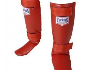 Twins Защита для голени и стопы Красный