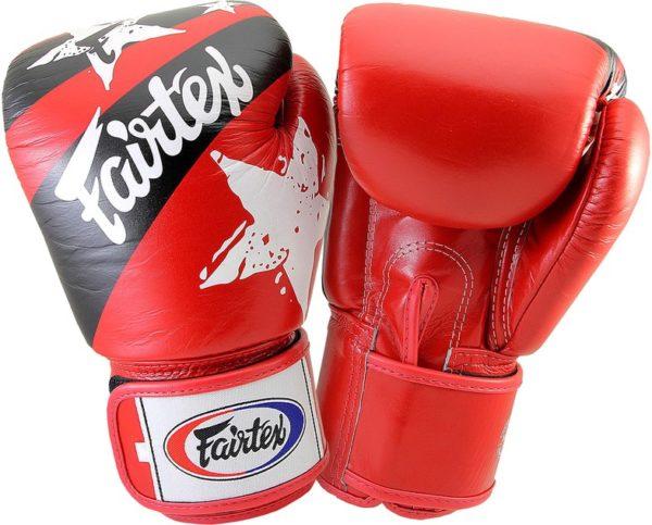 Fairtex BGV1 Red Nation Боксерские перчатки