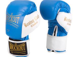Knockout NBG-250 Боксерские перчатки Синий