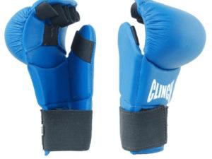 Clinch C258 Накладки для карате Синий