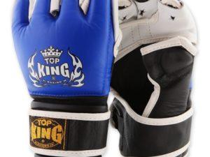 Top King Перчатки для мма Синий