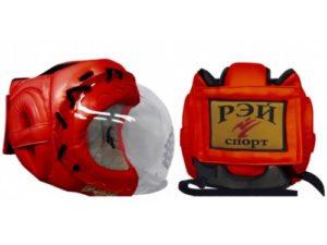 Рэй-Спорт Ш33ИКШ Шлем с прозрачной маской