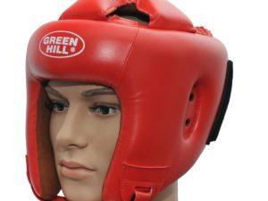 Green Hill KBH-4050 Боксерский шлем Красный