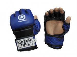 Green Hill MMC-0026 Перчатки для ММА Синий
