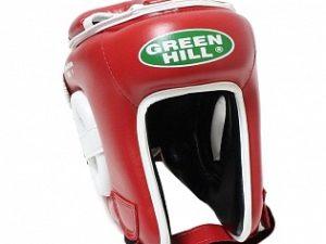 Green Hill KBH-4050k Боксерский шлем Красный