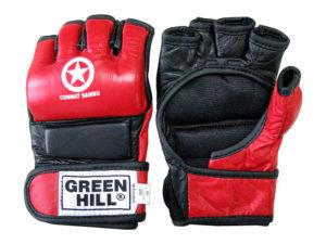 Green Hill MMC-0026 Перчатки для ММА Красный