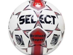 Мяч футбольный Select Brilliant super р.5 Красный