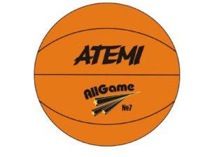 Мяч баскетбольный Atemi All Game р.3