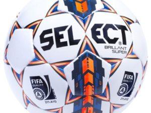 Мяч футбольный Select Brillant super р.5 Белый