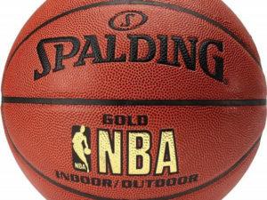 Мяч баскетбольный Spalding NBA Gold р.7