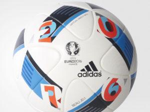 Мяч футбольный Adidas Euro16 р.5