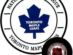 Gufex Хоккейная шайба Toronto maple leafs