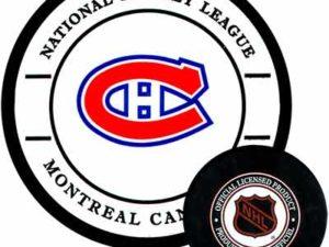 Gufex Хоккейная шайба Montreal Canadiens