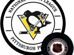 Gufex Хоккейная шайба Pittsburgh penguins