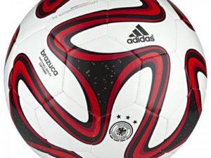 Мяч футбольный Adidas Brazuca wc14 cap dfb р.5