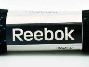 """Reebok Шнурки без пропитки """"274см"""" Черный"""