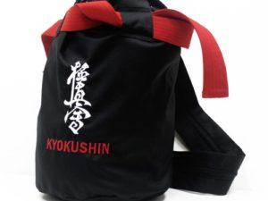 Россия сумка-мешок с поясом Kyokushin