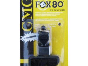 Fox 80 Пластиковый свисток Черный