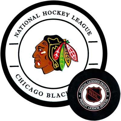 Gufex Хоккейная шайба Chicago Blackhawks