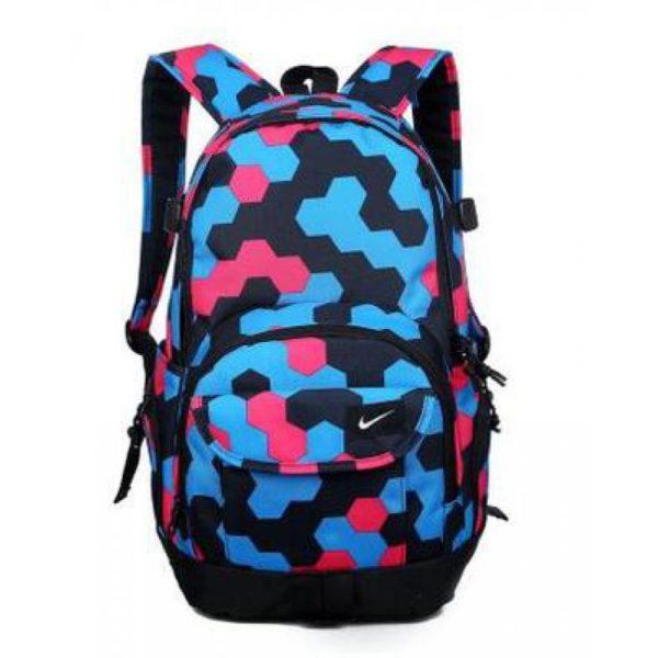 Рюкзак Nike голубой с розовым