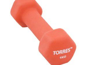 TORRES Гантели 1кг