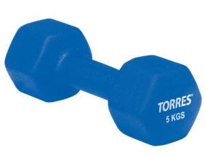 TORRES Гантели 5кг