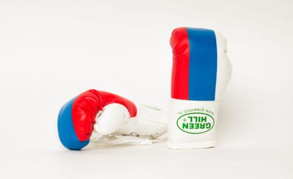 "Green Hill Брелок Боксерская перчатка ""Триколор"""